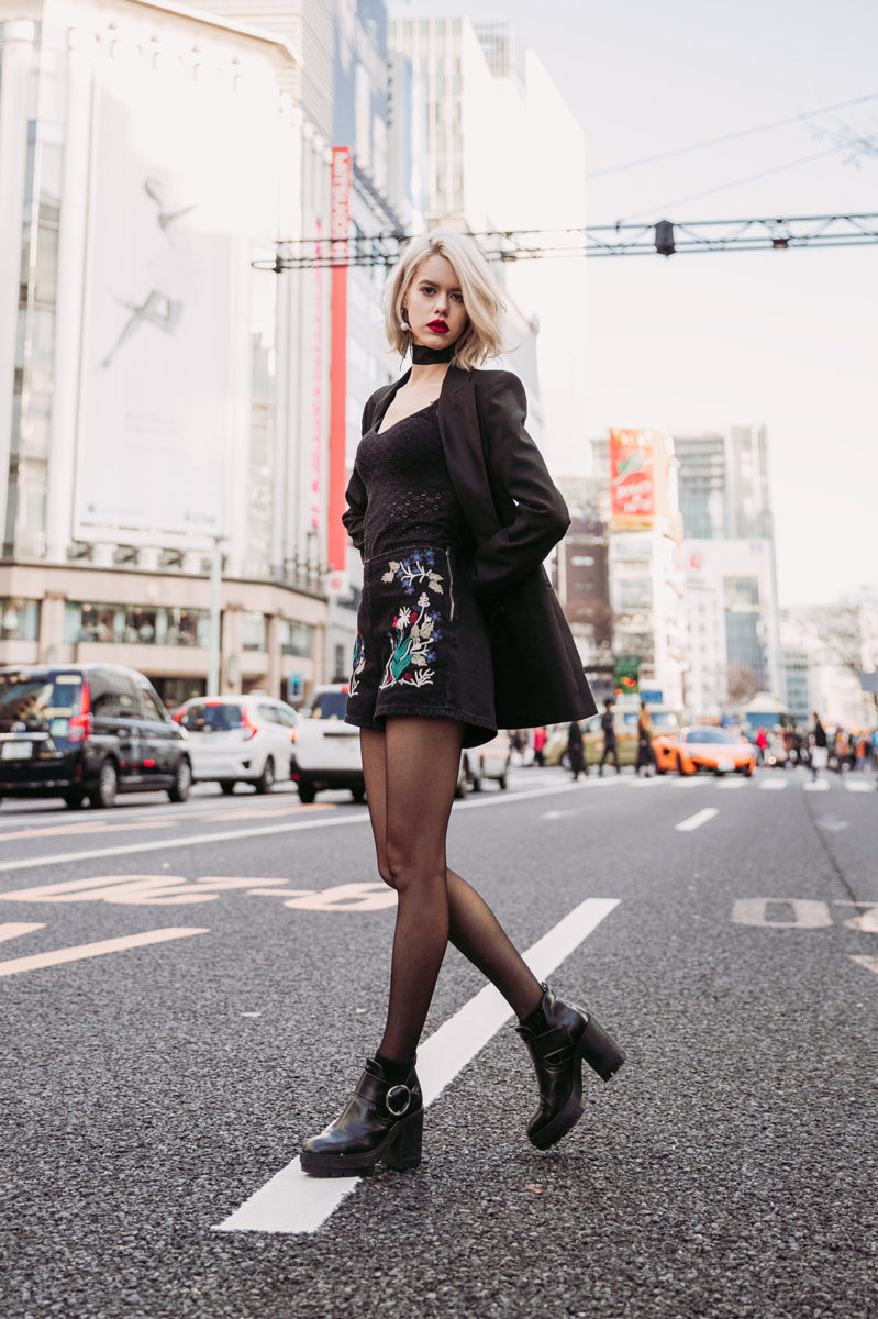 test shoot with sheri in ginza by ivana micic