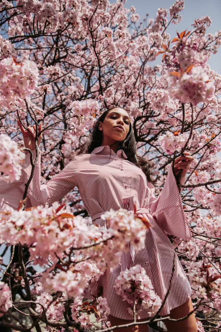 Travel Photography - Cherry Blossom Portrait Session in Shinjuku by ivana micic