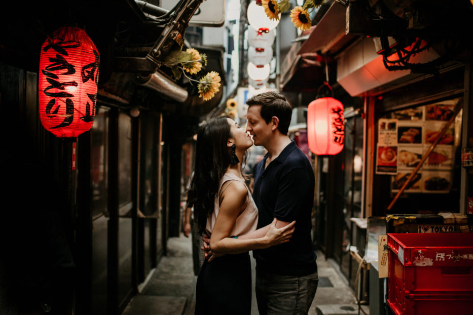 Couple session with Nick & Tiff in Tokyo - by ivana micic