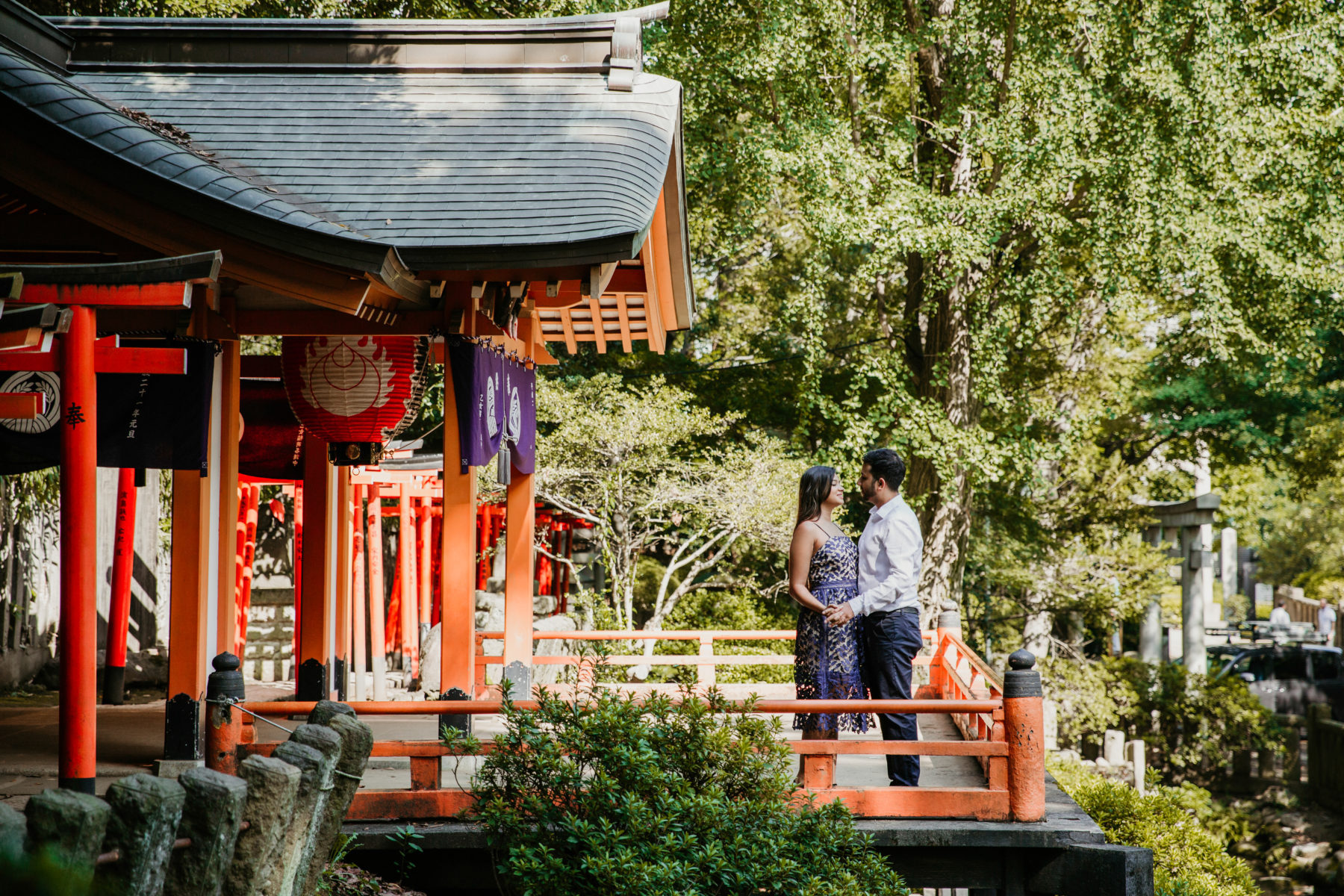 Surprise Proposal Session at Nezu Shrine in Tokyo by ivana micic
