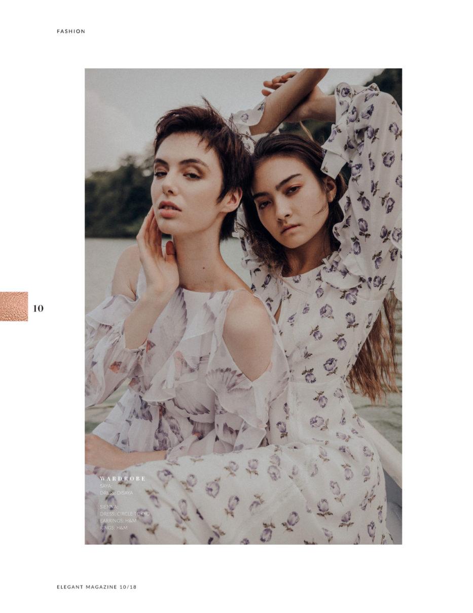 Fashion Editorial For Elegant Magazine by Ivana Micic