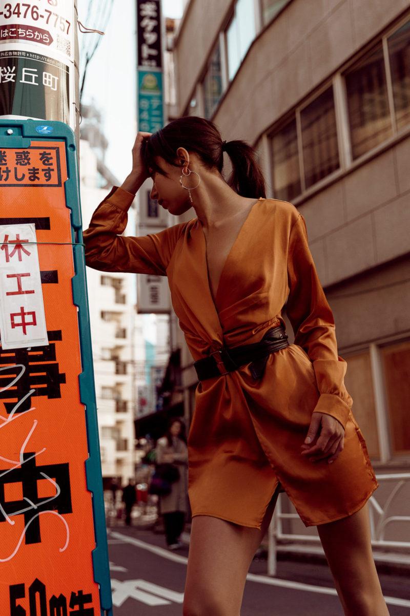 Embracing Tokyo - fashion shoot in Tokyo streets