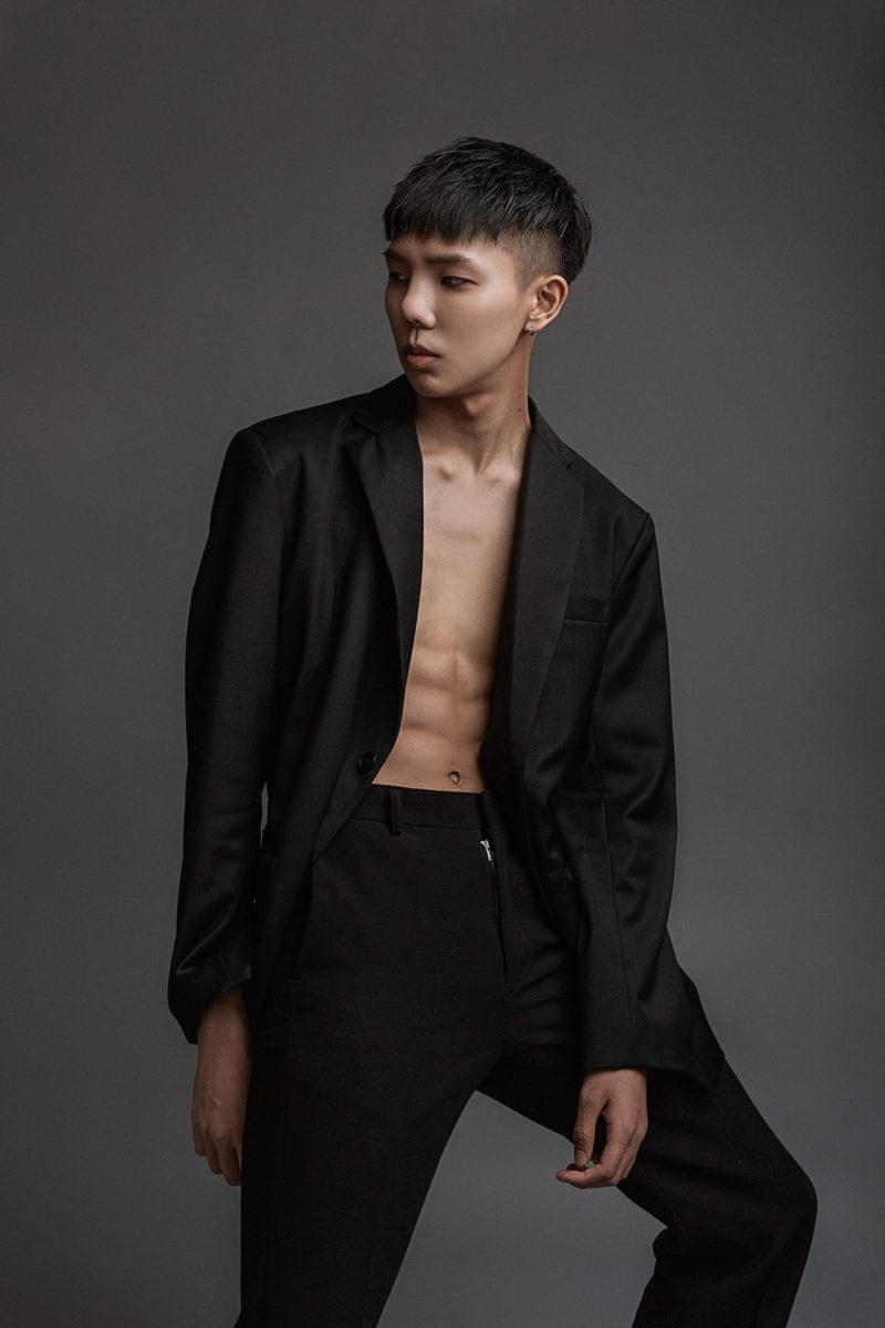 studio male model lookbook photography by ivana micic