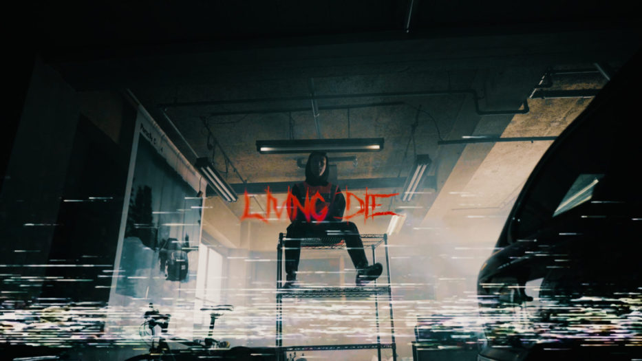 CSCALE - Living Die/Japan Tokyo Official Music Video by shun murakami