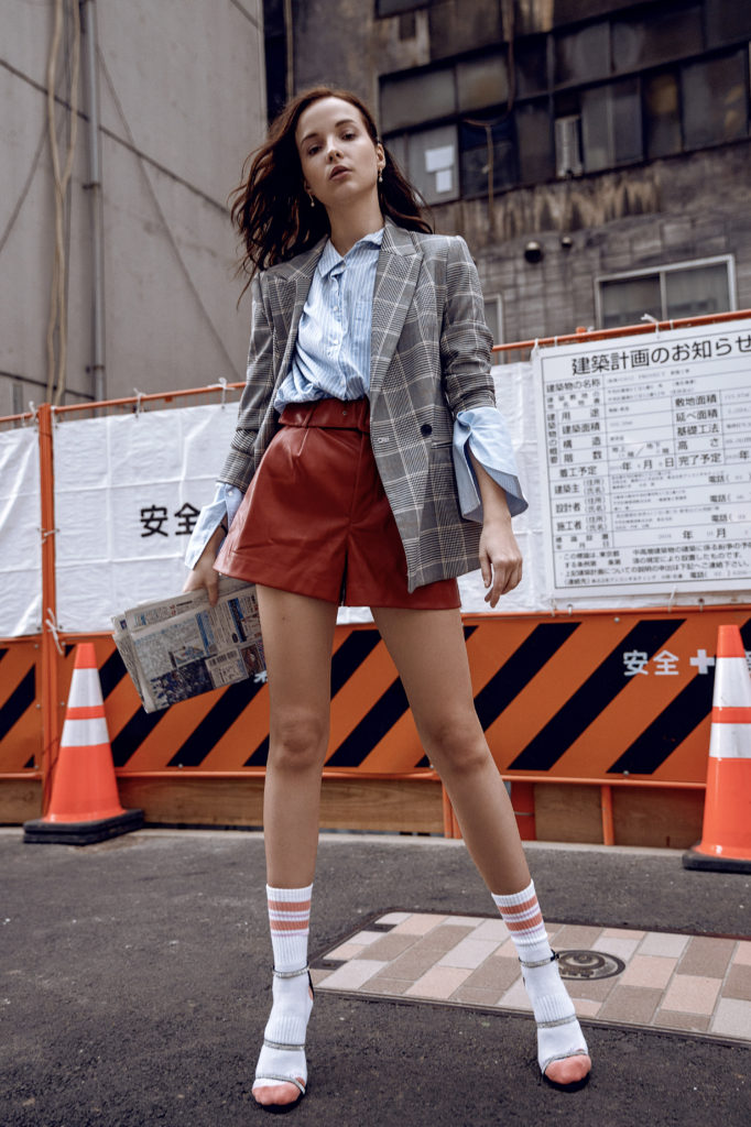 Model Test Shoot in Tokyo