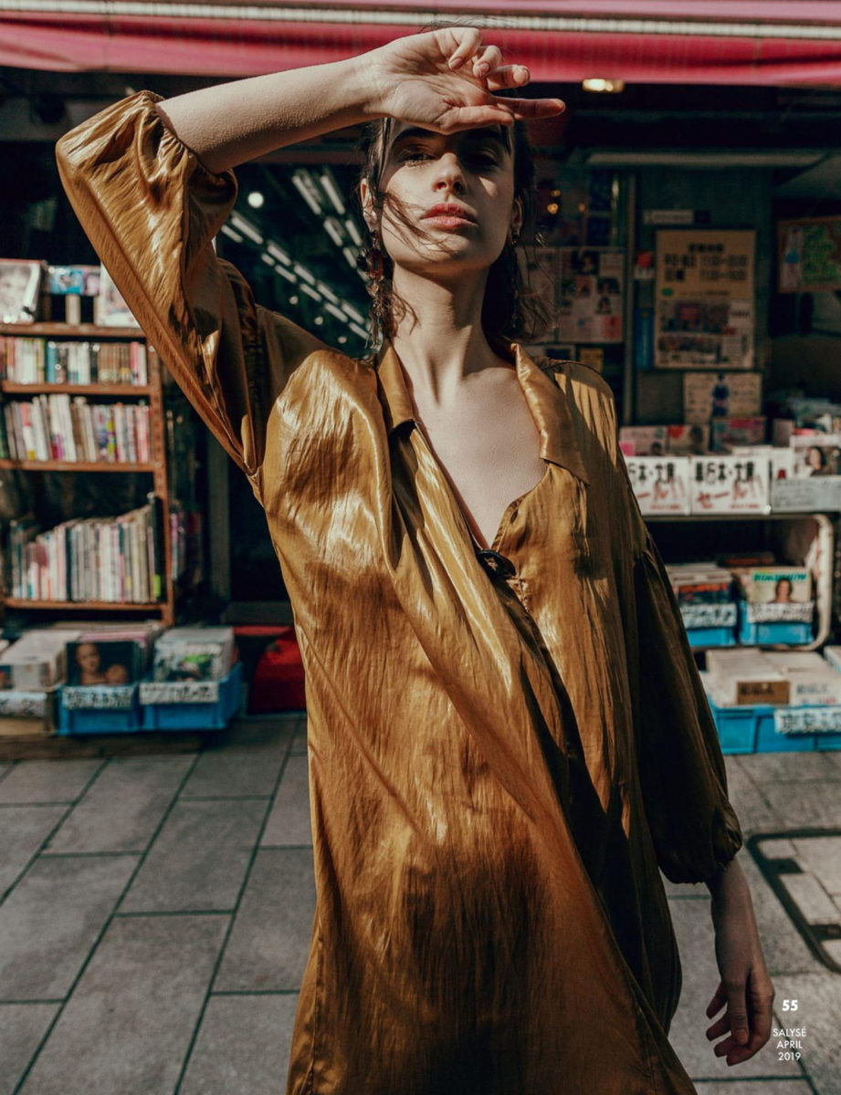 Fashion editorial for Salysé Magazine by ivana micic