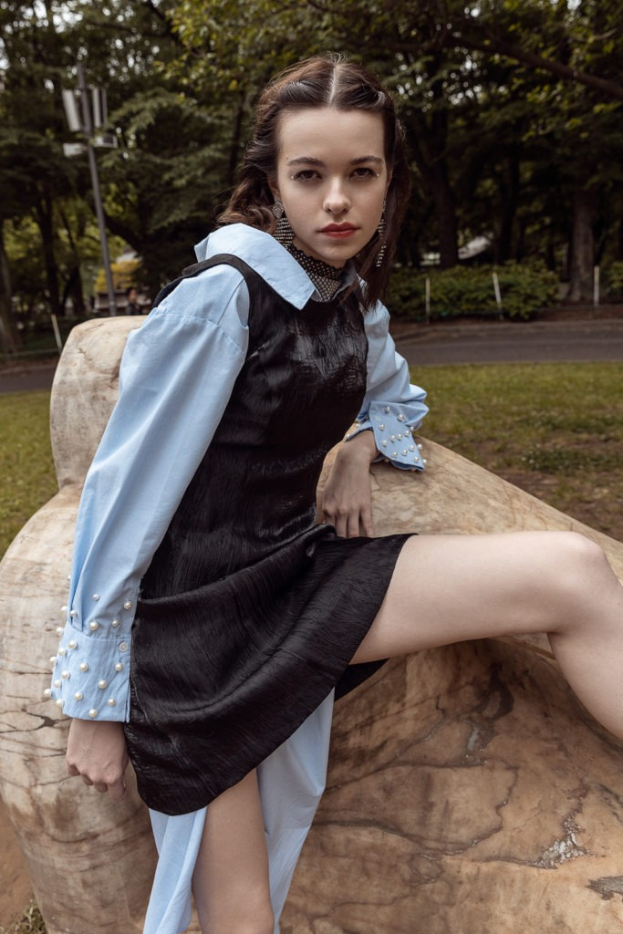 """fashion editorial """"Within"""" in tokyo by ivana micic"""