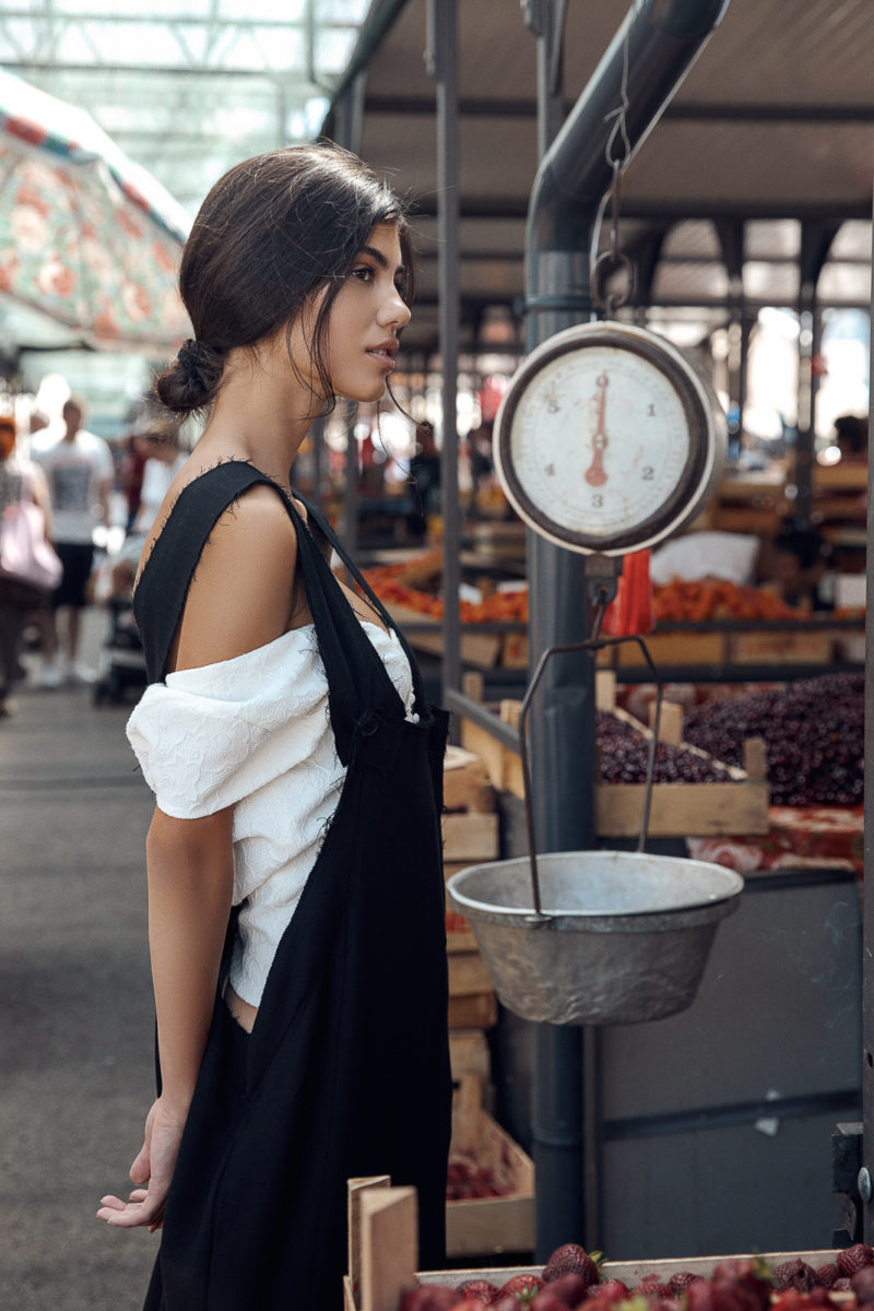Belgrade Design Hub Designs with Model Kaya by Ivana Micic