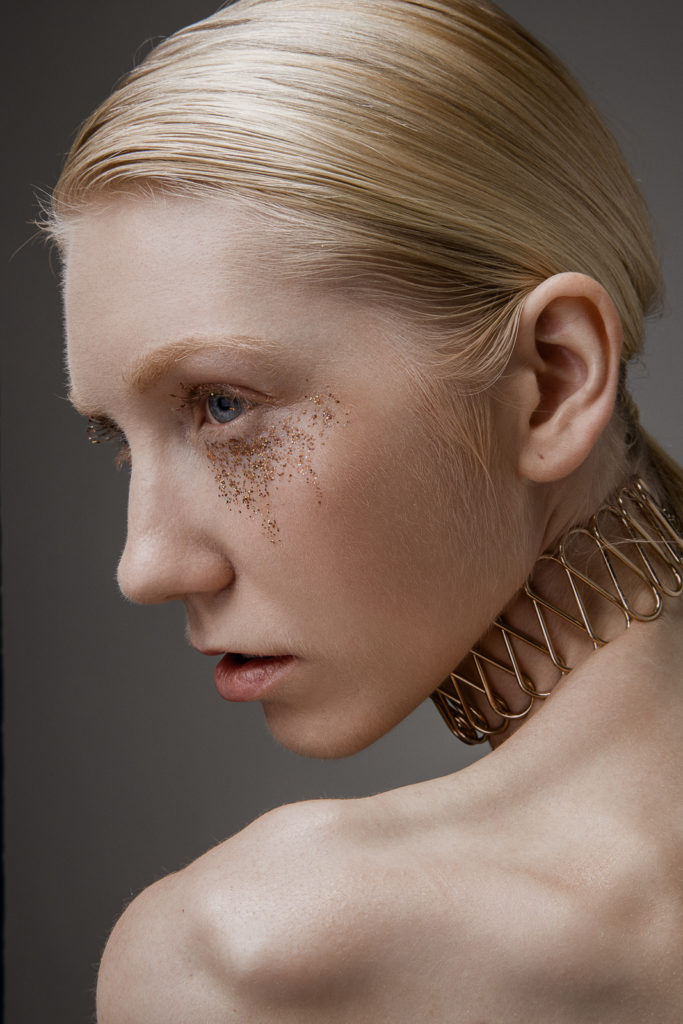 Beauty shoot with Amelie in Tokyo by Ivana Micic