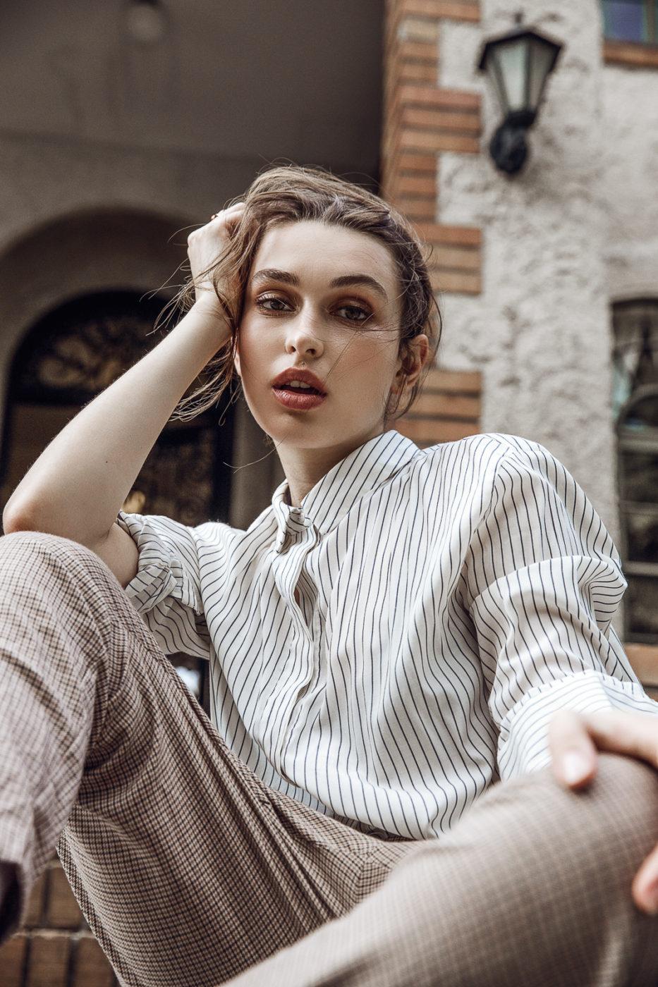 Model Lookbook in Tokyo with Kseniia by Ivana Micic