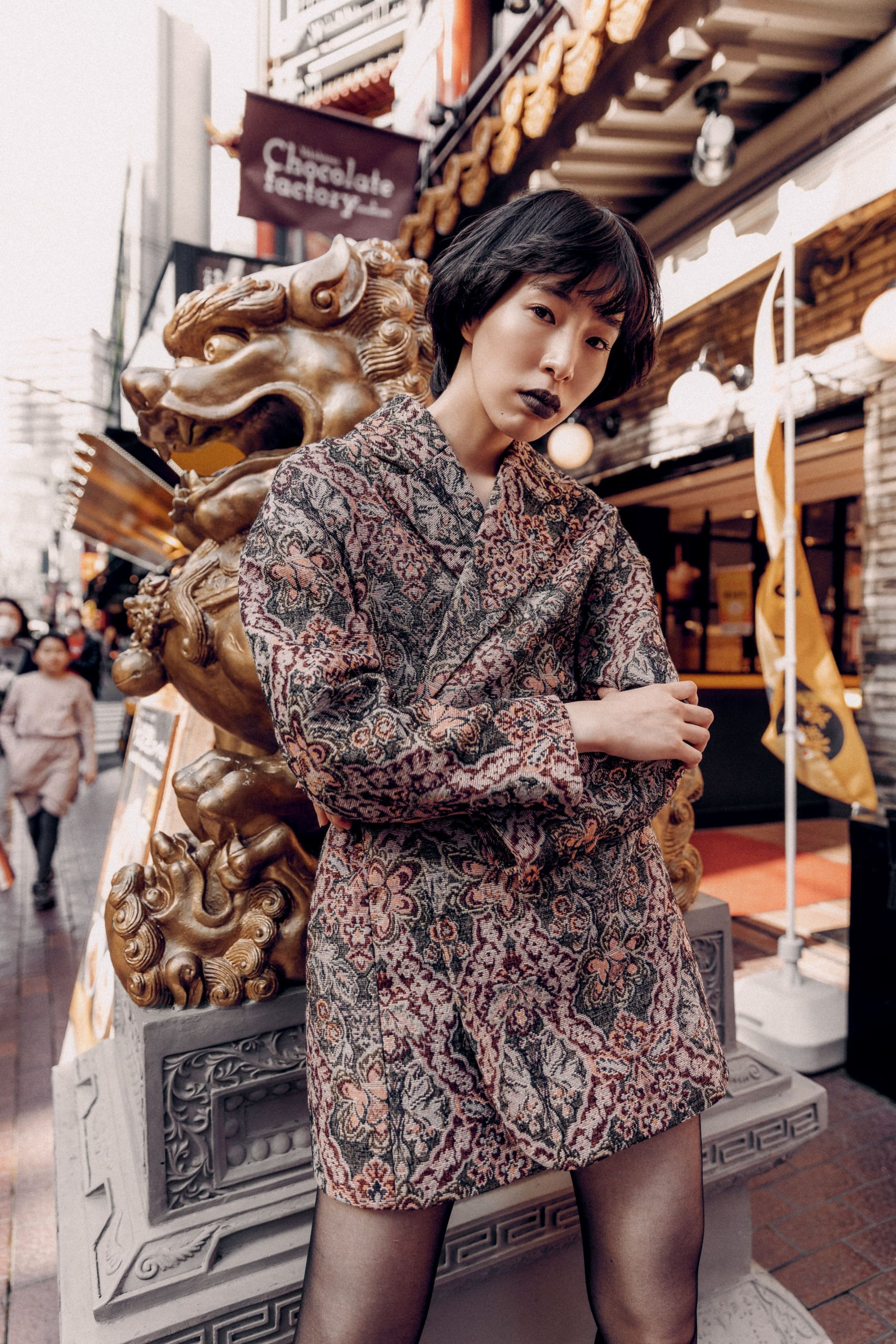 Chinatown - fashion editorial by Ivana Micic21