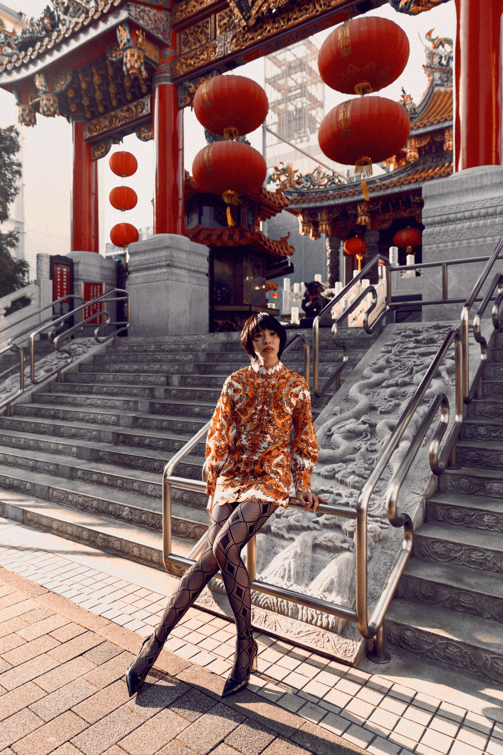 Chinatown - fashion editorial by ivana micic5