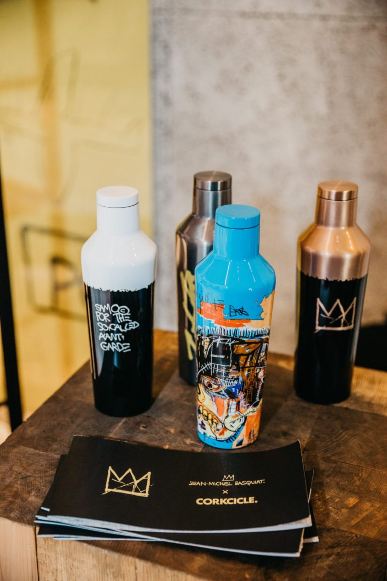 Corkcicle x Jean-Michel Basquiat Event at Wall&Wall Omotesando