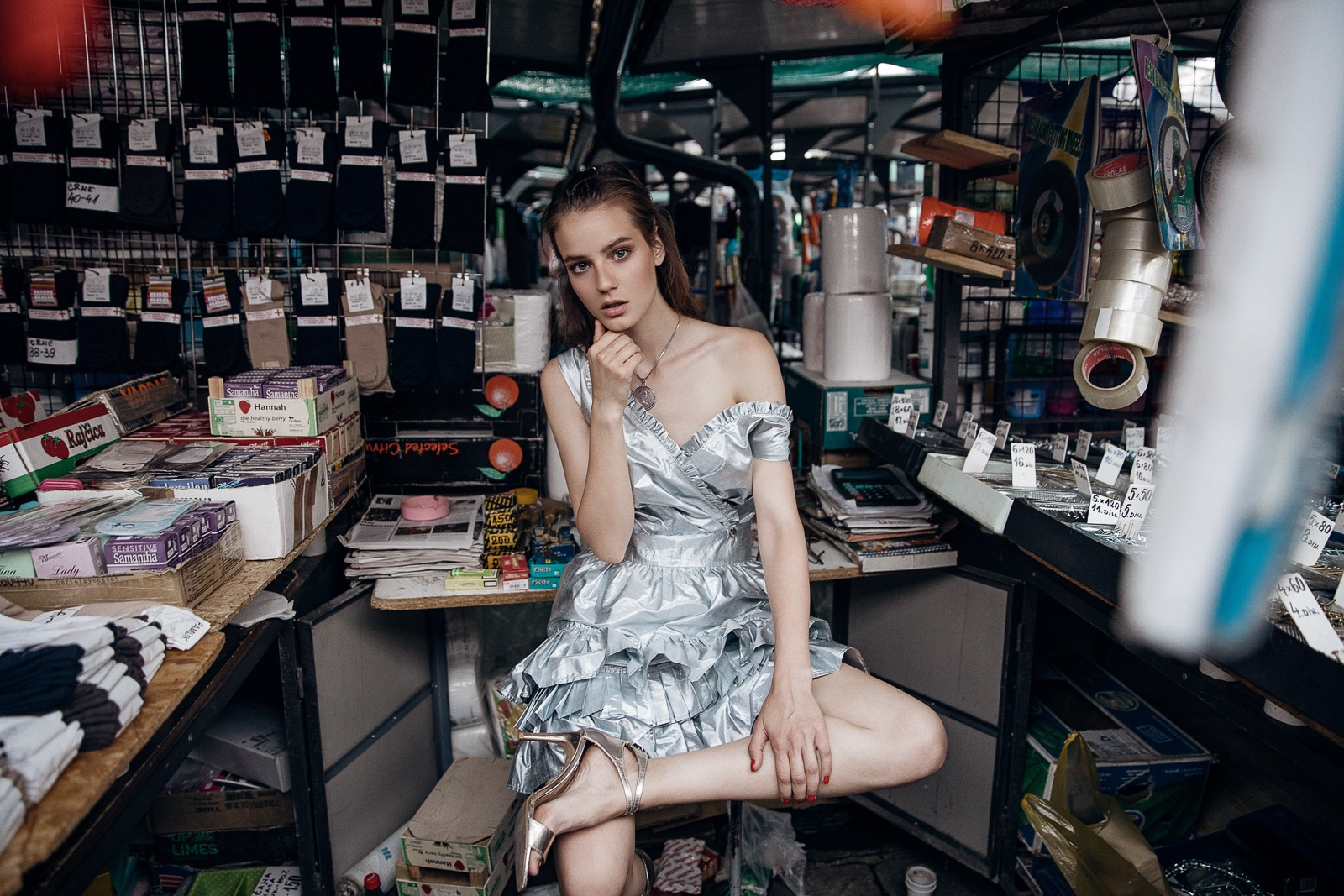 """Fashion editorial """"Marketplace"""" with P1 Concept Store by Ivana Micic"""