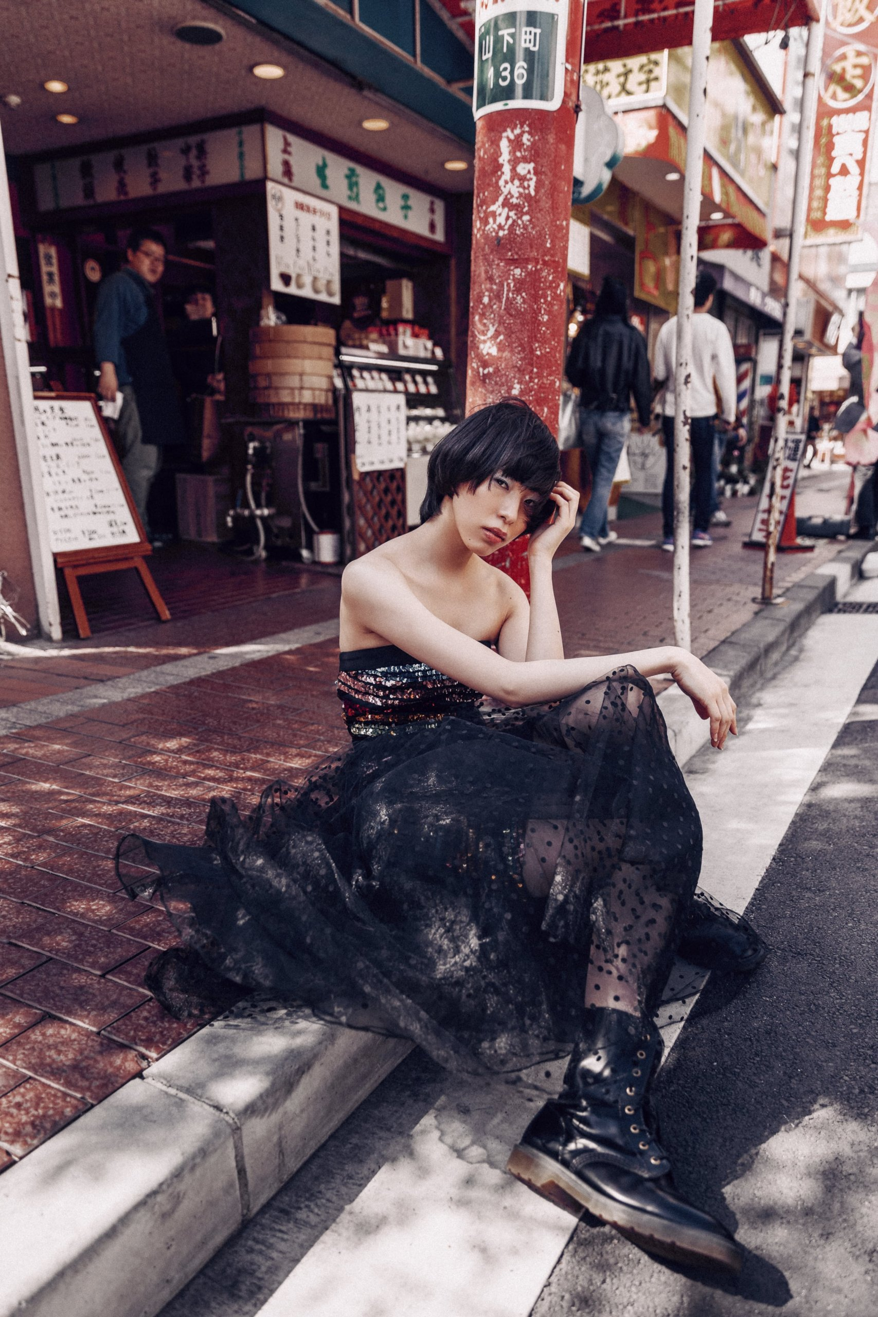 Chinatown - fashion editorial by Ivana Micic17